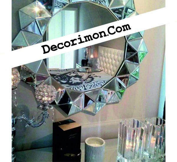 آینه دکوراتیو طرح ستاره